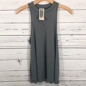 Free People High Neck Racer Back
